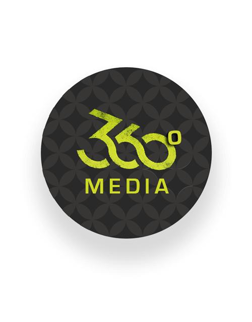360° MÉDIA\'s logo
