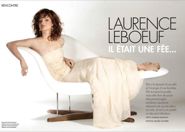 Laurence Leboeuf - ELLE magazine