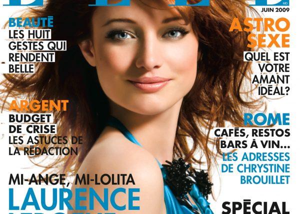 Laurence Leboeuf - ELLE Quebec magazine