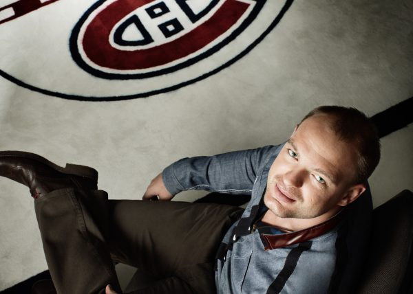Andrei Markov, Canadian Hockey Player - ELLE magazine