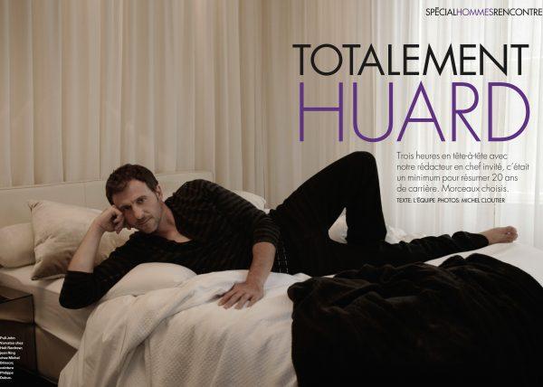 Patrick Huard - ELLE magazine