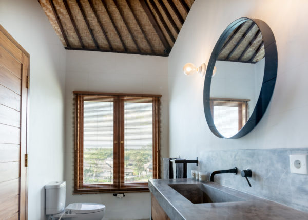 Villa ABSOLUTE – View of the Mantra bathroom
